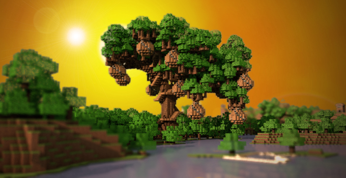 arbre hyperion serveur minecraft minefield