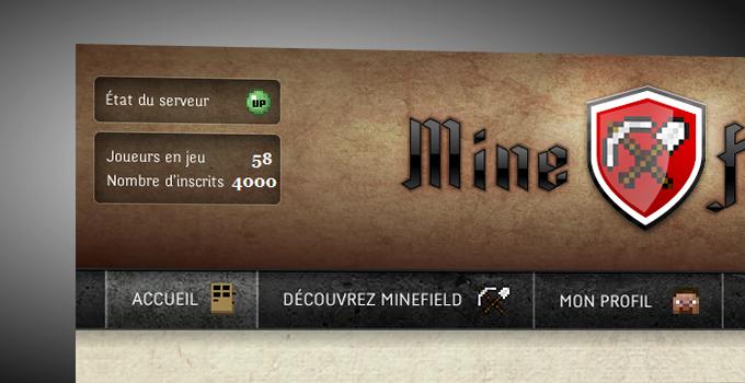minefield garde sa place de meilleur serveur minecraft france !