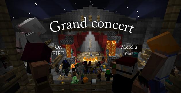 concert minecraft