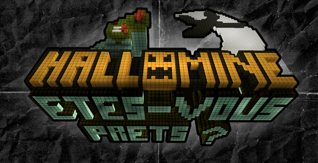hallomine minecraft convention halloween