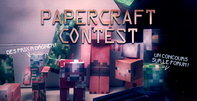 Concours Papercraft
